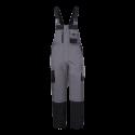 Zimowe spodnie robocze ogrodniczki ocieplane Lahti Pro L41108