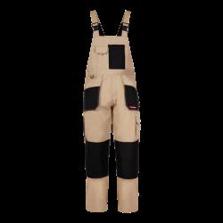 Spodnie robocze ogrodniczki ochronne beżowe Lahti Pro L40601