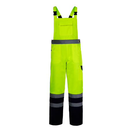 High visibility bub pants yellow LahtiPro L41105