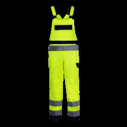 High visibility bub pants yellow premium LahtiPro L41107