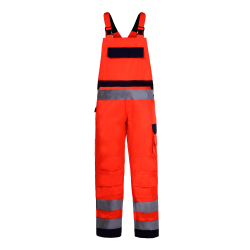 High visibility bub pants orange premium LahtiPro L41106