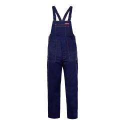 QUEST Trousers Dungarees navy strengths Lahti Pro