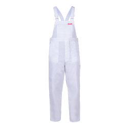 QUEST Trousers Dungarees white strengths Lahti Pro