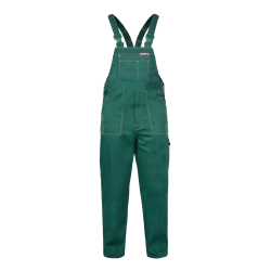 QUEST Trousers Dungarees green strengths Lahti Pro