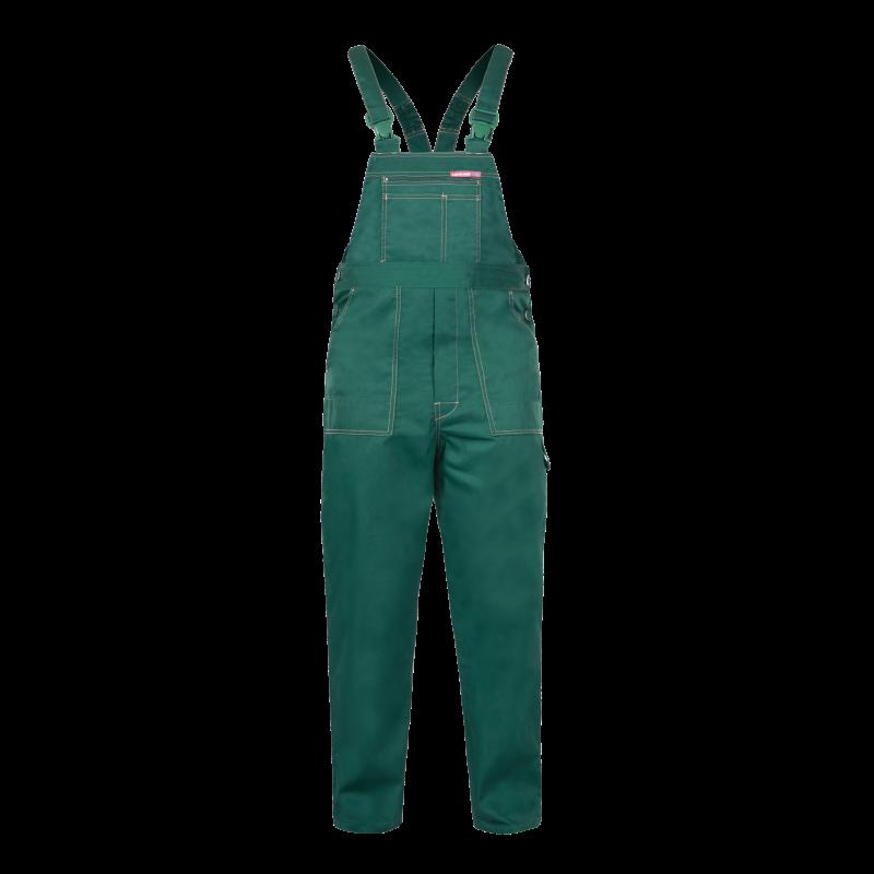 faefd94a3302fb QUEST Spodnie robocze ogrodniczki zielone mocne Lahti Pro LPQB. Loading zoom
