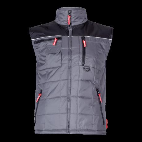 Warmed sleeveless gray Lahti Pro LPBO