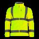 Bluza polar ostrzegawcza żółta LahtiPro L40109 przód