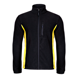 Fleece jackets black Lahti Pro L40101