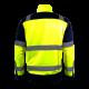 Kurtka odblaskowa żółta premium EN ISO 20471 LahtiPro L40912 tył plecy