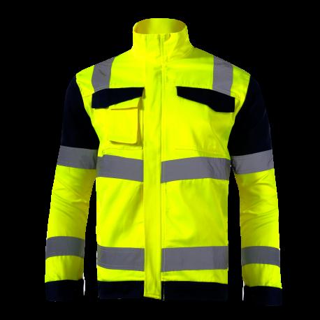 Hight visibility jackets premium yellow LahtiPro L40912