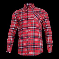 Koszula flanelowa robocza bawełna czerwona Lahti Pro L41803