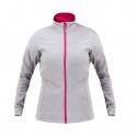 Bluza polarowa damska szaro-różowa Lahti Pro L40106