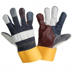 Cowhide leather furniture gloves Lahti Pro L2713