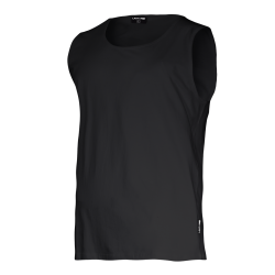 Sleeveless T-shirts black Lahti Pro L40220