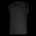 Koszulki bez rękawów podkoszulki czarne Lahti Pro L40220