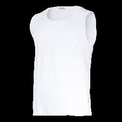 Koszulki bez rękawów podkoszulki białe Lahti Pro L40221