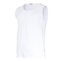 Sleeveless T-shirts white Lahti Pro L40221
