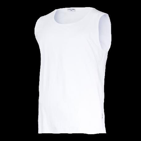 Sleeveless T-shirts white Lahti Pro L40221