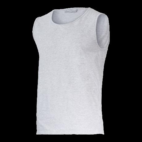 Koszulki bez rękawów podkoszulki szare Lahti Pro L40222