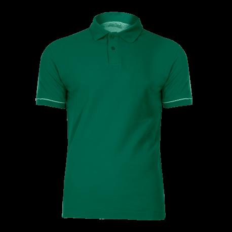 Polo shirt green cotton Lahti Pro L40309