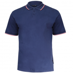 Polo shirt men navy 190g cotton Lahti Pro L40312