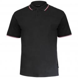 Koszulka Polo męska czarna 190g bawełniana Lahti Pro L40310