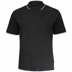 Polo shirt men black 190g cotton Lahti Pro L40310
