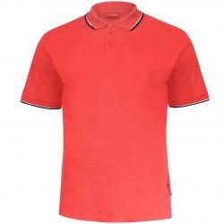 Koszulka Polo męska czerwona 190g bawełniana Lahti Pro L40313