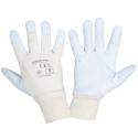 Rękawice robocze ochronne ze skóry koziej Lahti Pro L2717
