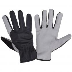 Rękawice robocze ochronne ze skóry syntetycznej Lahti Pro L2715