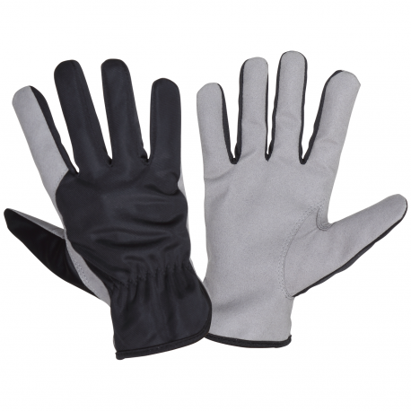 Protective working gloves made of synthetic leather Lahti Pro L2715