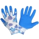 Rękawice ogrodowe dla kobiet polekane lateksem Lahti Pro L2115