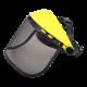 Maska ochronna siatkowa przeciwodpryskowa z daszkiem Lahti Pro L1520700