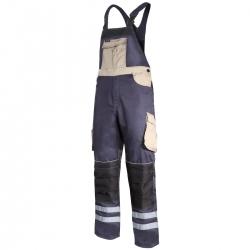 Spodnie robocze ogrodniczki beżowe Lahti Pro L40607
