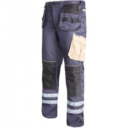 Spodnie robocze do pasa monterskie ochronne Lahti Pro L40507