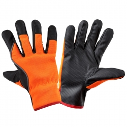 Working gloves orange Lahti Pro L2509
