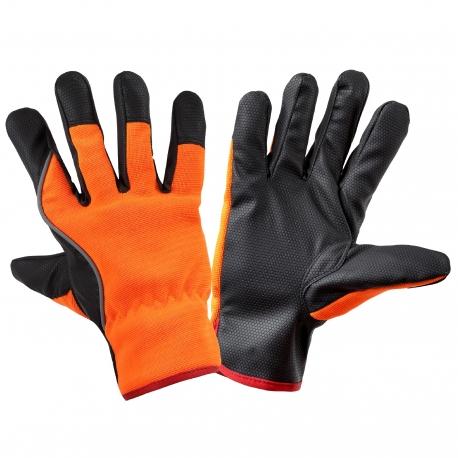 Rękawice ocieplane robocze pomarańczowe Lahti Pro L2509