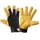 Rękawice ocieplane robocze ze skóry koziej Lahti Pro L2512