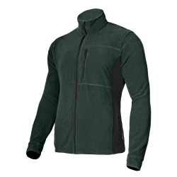 Green fleece sweatshirt Lahti Pro L40118