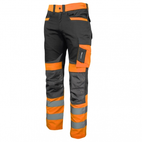 Gray Lahti Pro L40512 Slim Fit Trousers