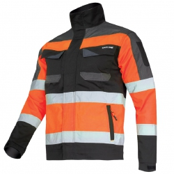 Working jacket orange Slim Fit Lahti Pro L40412