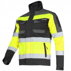 Kurtka ostrzegawcza robocza żółta Slim Fit Lahti Pro L40411