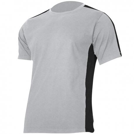 T-shirt, gray-black, 180g, cotton Lahti Pro L40228