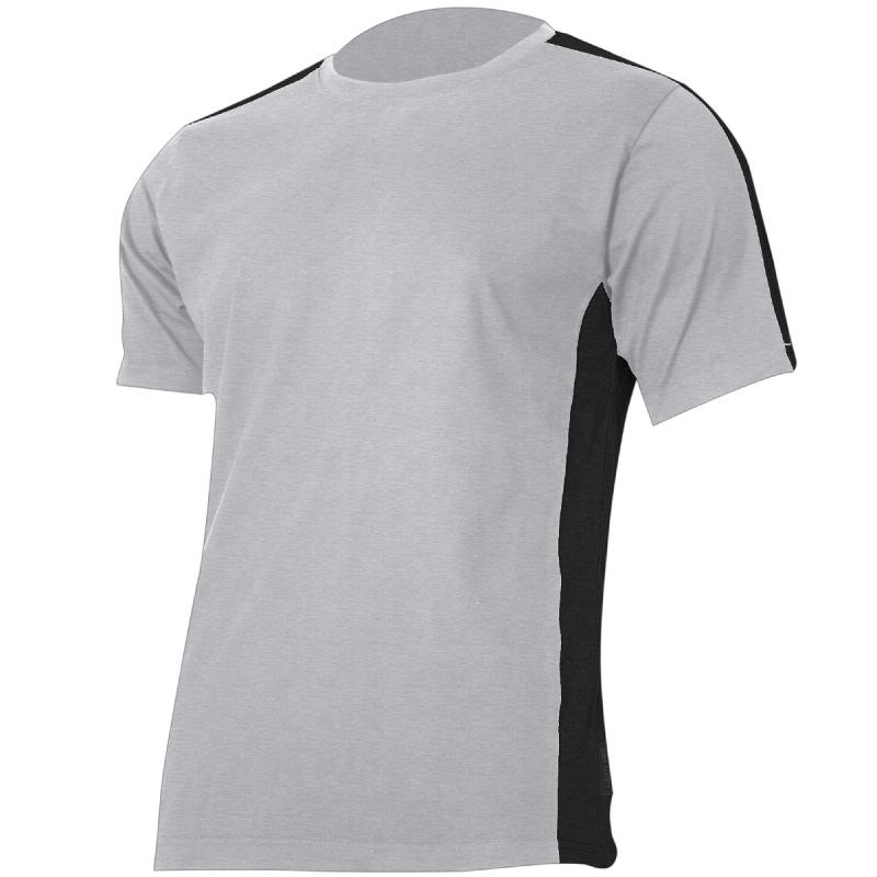 fd7f778fee3872 Koszulka t-shirt szaro czarna 180g bawełna Lahti Pro L40228 - Sklep ...