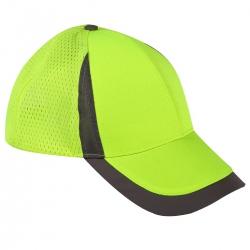 Caps mesh visor yellow 12 pcs. Lahti Pro L1010500