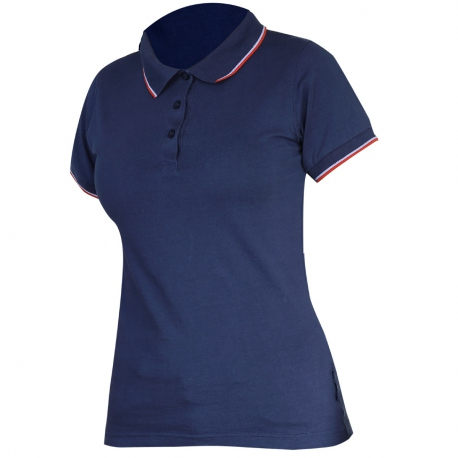 Polo shirt women's navy 190g cotton Lahti Pro L40316