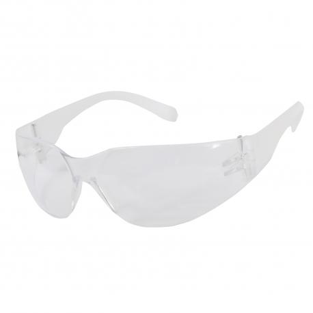 Okulary ochronne przeciwodpryskowe bezbarwne klasa F Lahti Pro L1500700
