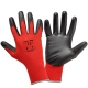 Work gloves coated with polyurethane red Lahti Pro L2306