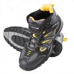 Buty robocze męskie ochronne czarne żółte L30104 Lahti Pro