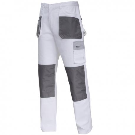Protective trousers white cotton Lahti Pro L40513